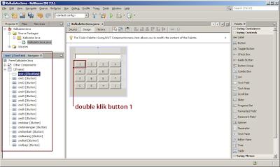 Cara membuat kalkulator dengan java netbeans