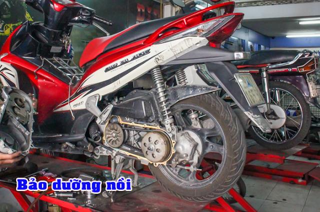 Giảm 10% hóa đơn sơn sửa xe máy nhân dịp khai trương