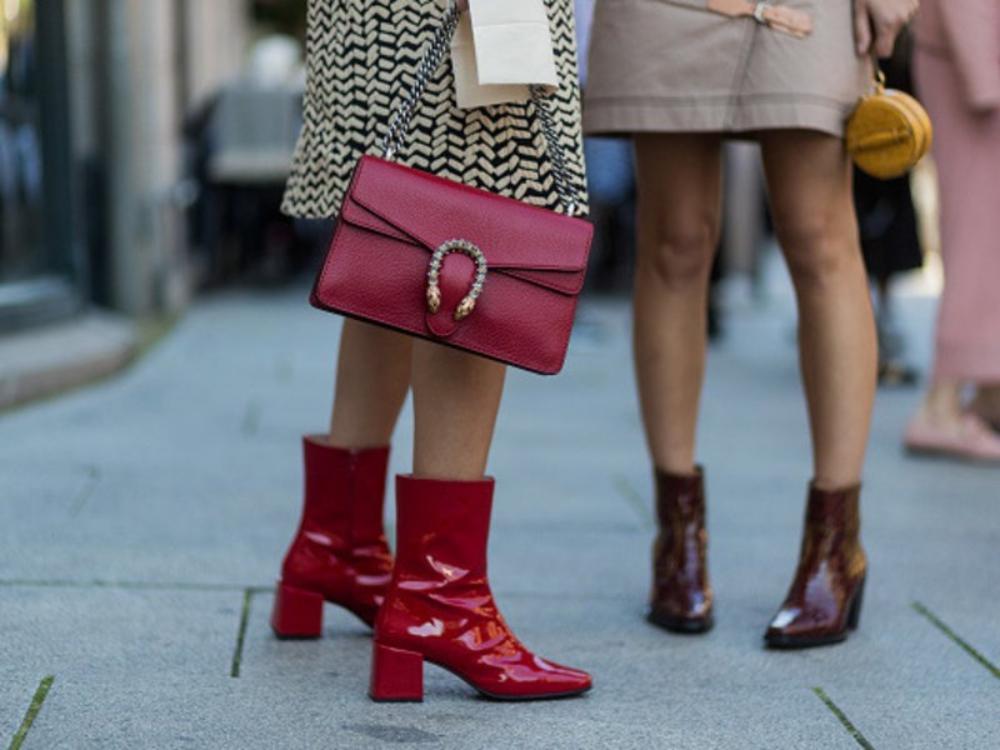 Die schönsten Looks mit Lack Ankle Boots