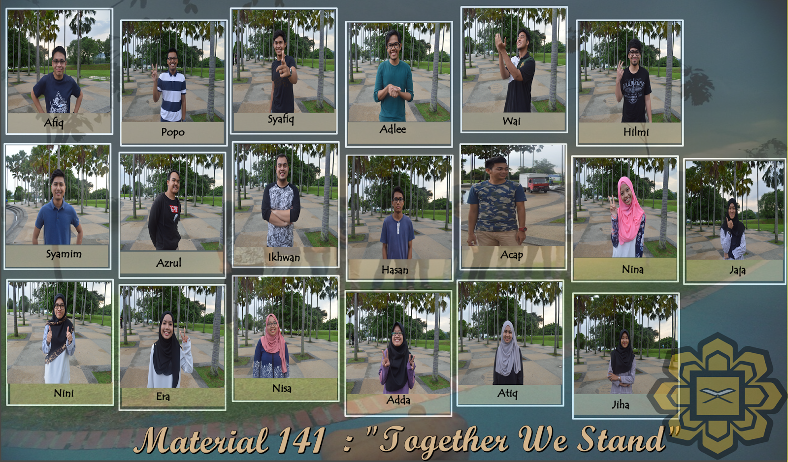 Materials 141 : Together We Stand