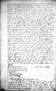 John Spitler Sr.'s Will, Augusta Co., VA, Will Book 32, page 110