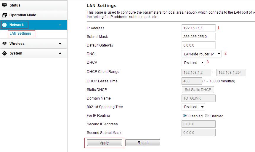 Cara Setting TOTOLINK CP300 Sebagi Access Point - sambilbaca com
