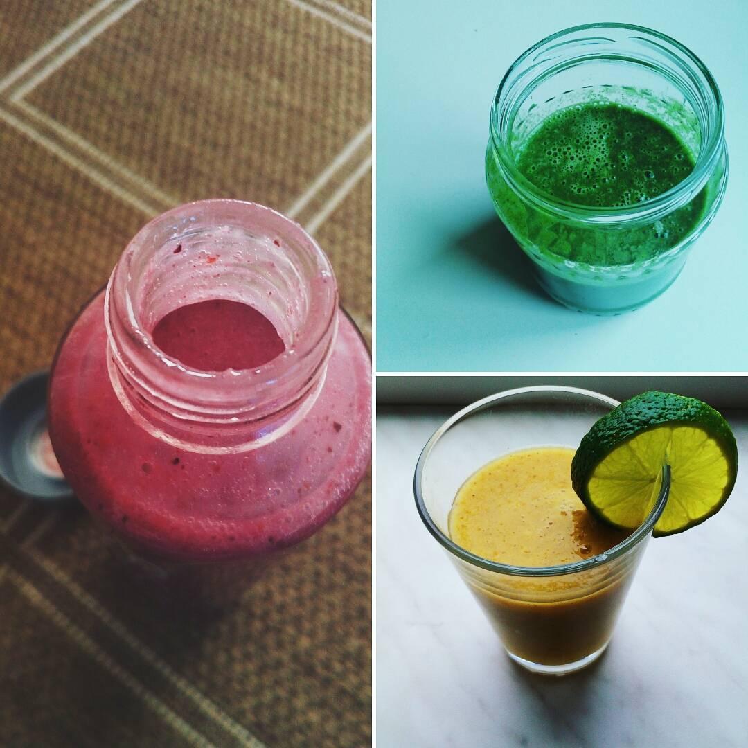 Snídaňové ovocné smoothie