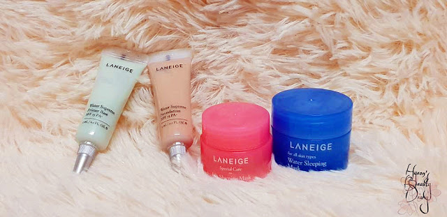 Monthly Project; #15 LANEIGE Mini Product Review