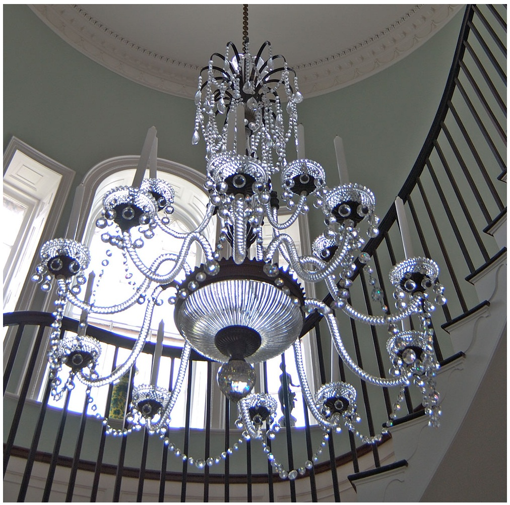 clip on chandelier glass shades