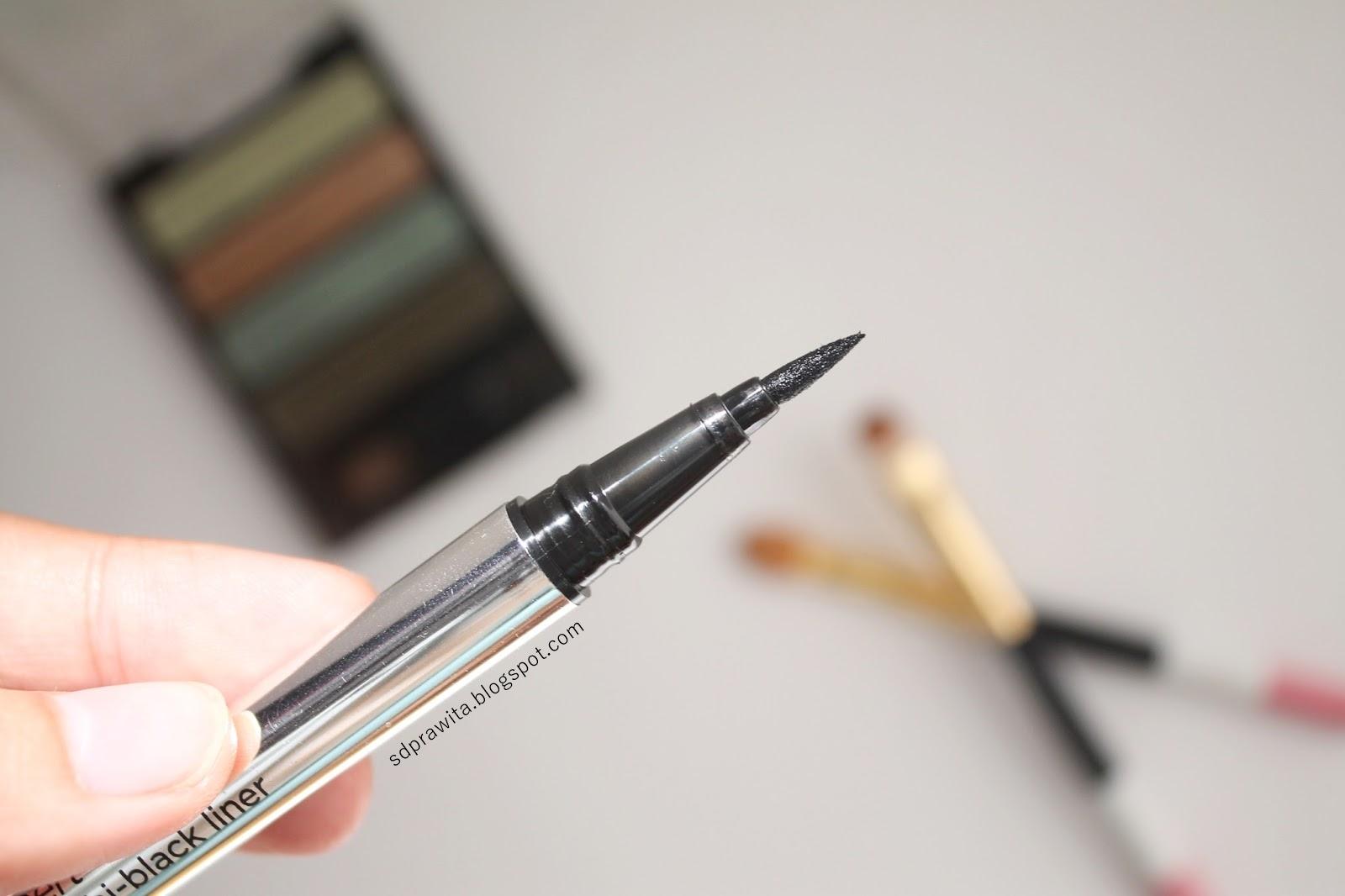 Review Wardah Eyexpert Optimum Hi Black Liner Firadwip Eyeliner Packagingnya Yang Berwarna Silver Terlihat Mewah Eksklusif Dan Mahal Padahal Harganya Affordable Cuma 65 Ribu Aja