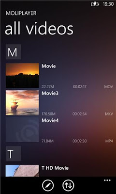 Download MoliPlayer Pro 1.3.2.17 XAP For Windows Phone