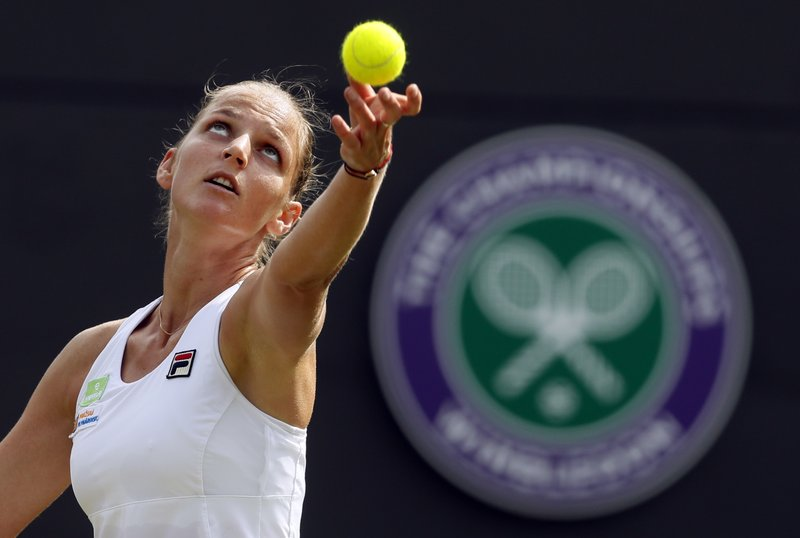 Karolina Pliskova will rise to No. 1 in the WTA rankings Next Week