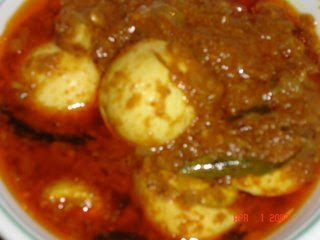 Mutton Egg Masala Recipe