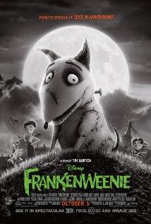 Film Poster  Frankenweenie 2012 aninmatedfilmreviews.filminspector.com