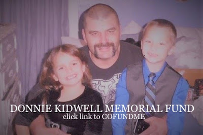 GO FUND ME FOR DONNIE KIDWELL