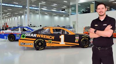 "I don't know if I'd be able to do what I do without an engineering degree,"" Chris Long #NASCAR"