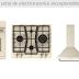 Pachete de electrocasnice incorporabile si combina frigorifica cu design rustic