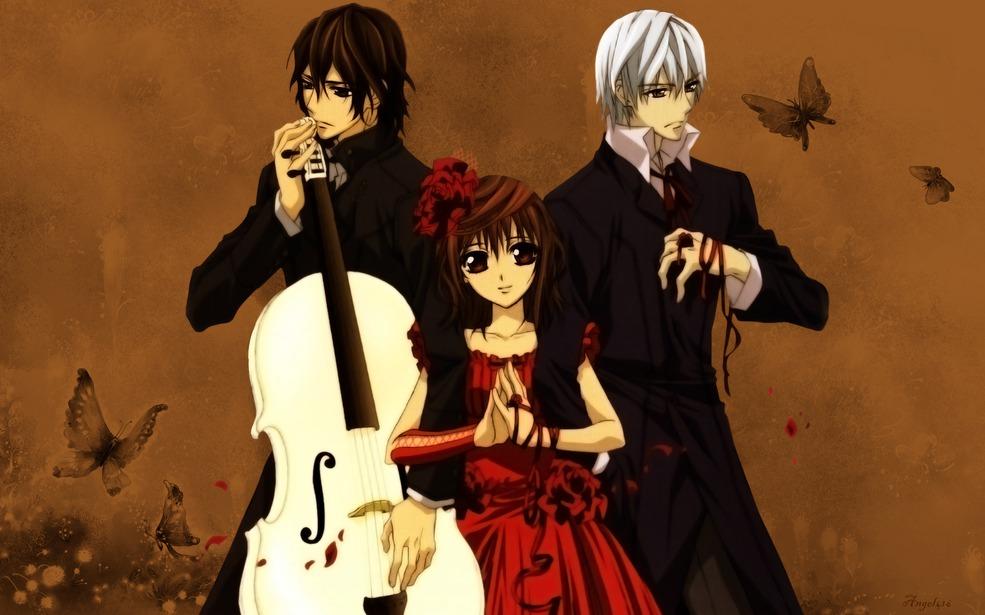 Moonlight summoner 39 s anime sekai vampire knight - Vampire knight anime wallpaper ...