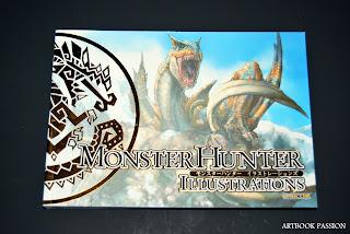 artbook monster hunter illustrations ps3