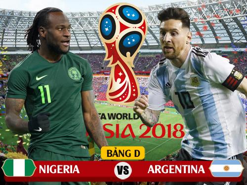 Link trực tiếp Nigeria vs Argentina tiếng Việt ở đâu?