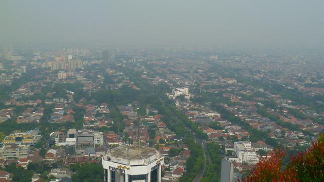 Jakarta desde el piso 56