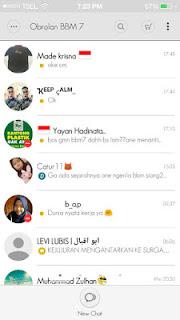 BBM Mod MIUI 7 Themes 2.12.0.11 APK