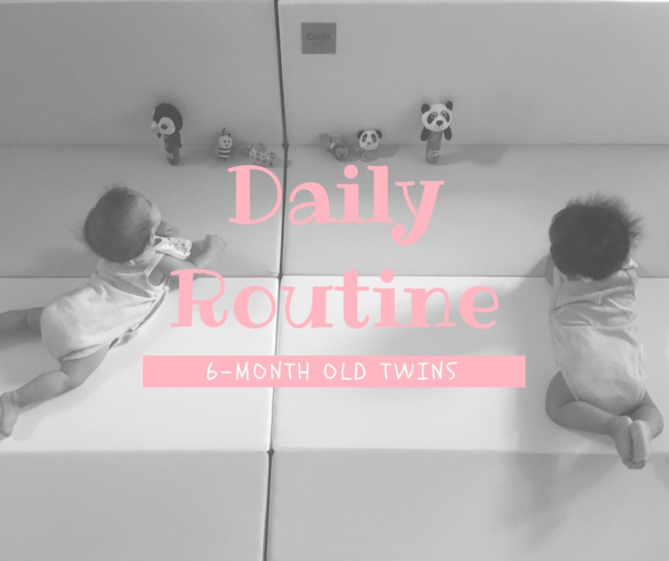 twin babies daily routine