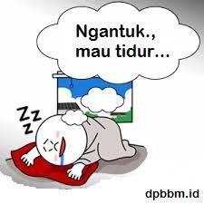 Dp Bbm Ngantuk Mau Tidur
