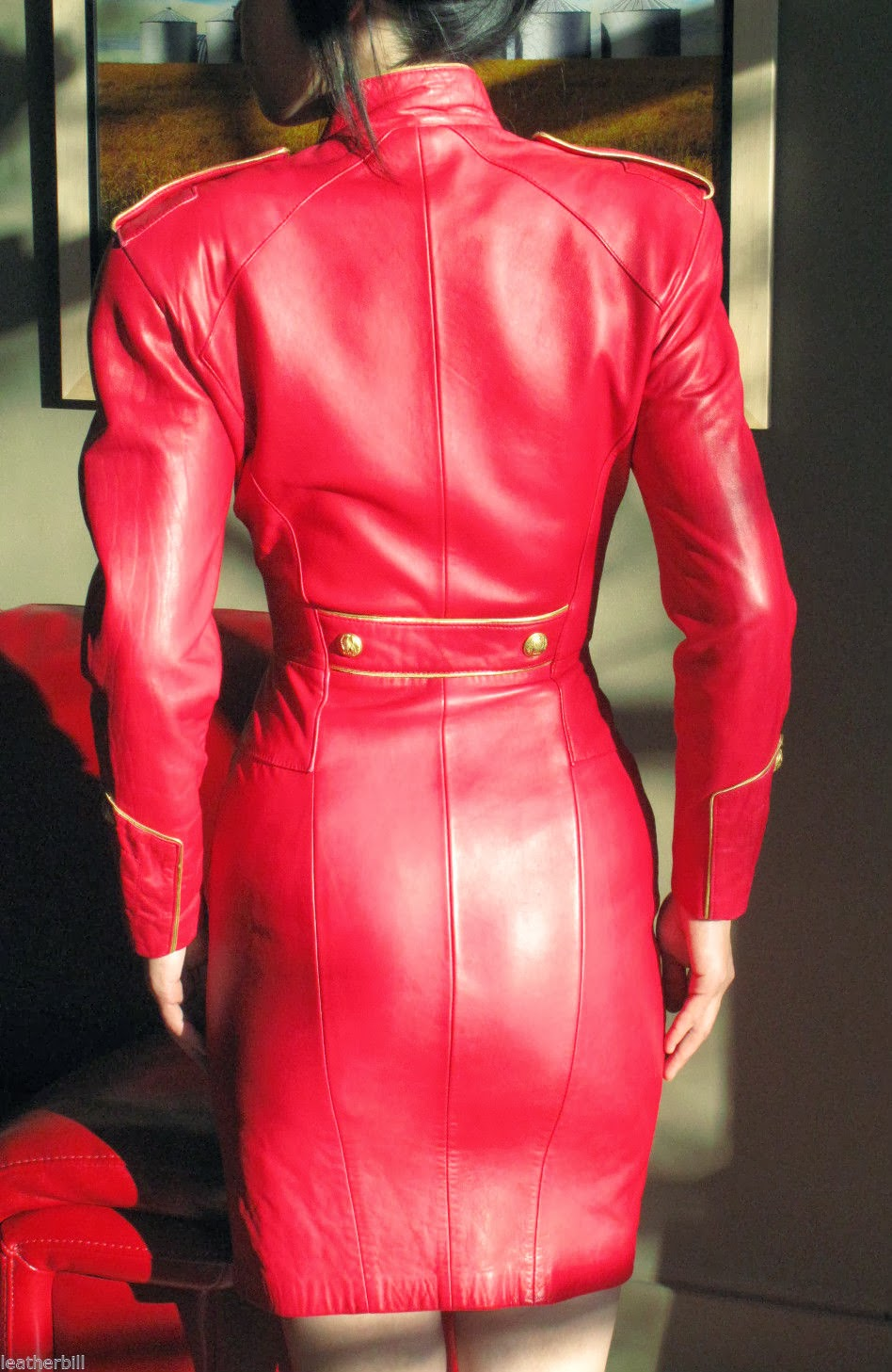 Ebay Leather An Assortment Of Recent Leather Dress Sales