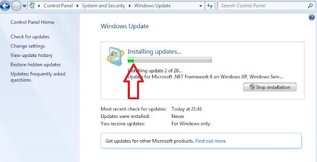 Cara Mengupdate Windows 7 Untuk Menjaga Keamanan Sistem Dan Data di PC