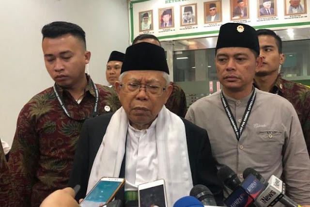 Sejumlah Tokoh NU Merapat ke Prabowo-Sandi, Begini Reaksi Ma'ruf Amin