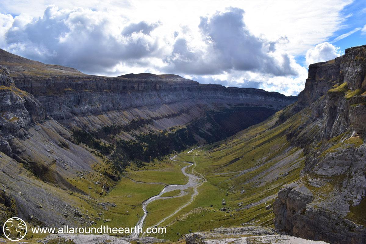 View of the Ordesa Valley, Ordesa Y Monte Perdido National Park, Spain