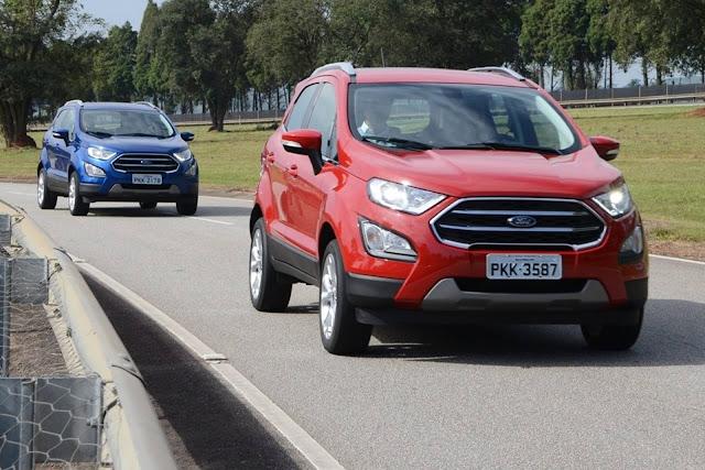 Novo Ford EcoSport 2018 - Vermelho