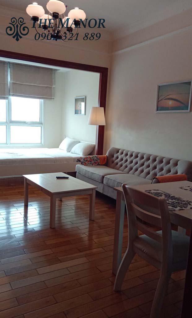 căn hộ studio giá rẻ The Manor quận Bình Thạnh - hình 4