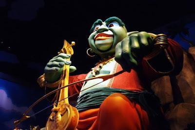 Sindbad's Storybook Voyage Ride in Tokyo Disneysea Japan