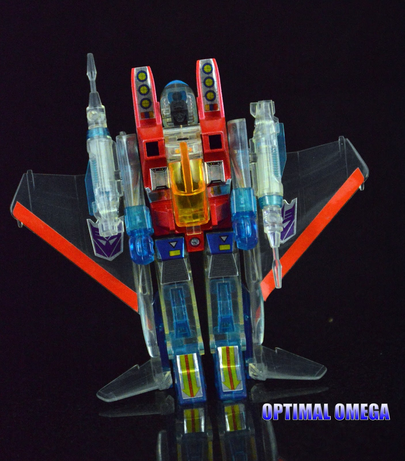Light Stand Takara Spirit 3: Optimal Omega's Transformers: EHobby Ghost Starscream