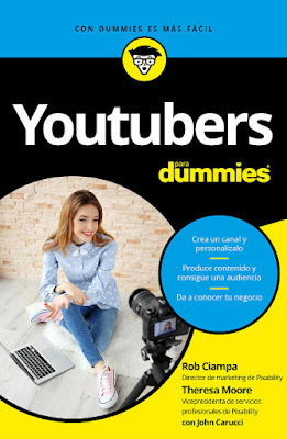 LIBRO - Youtubers para Dummies  Rob Ciampa - Theresa Moore - John Carucci  (29 noviembre 2016)  Edición papel & digital ebook kindle  Comprar en Amazon España