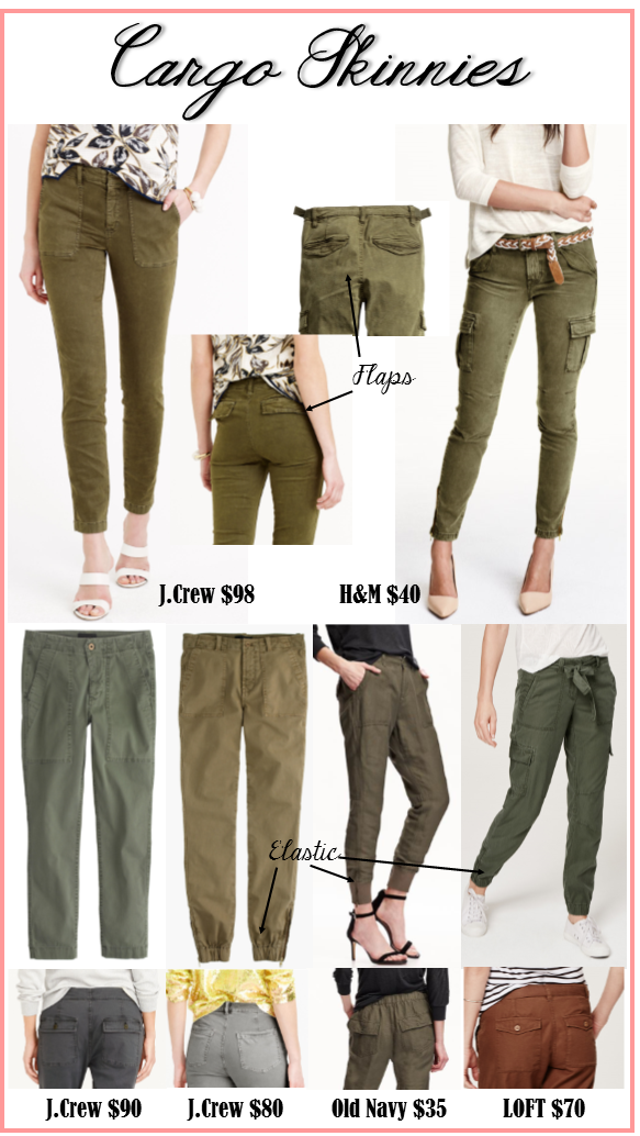 J.Crew for less fall for less Cargo Pants