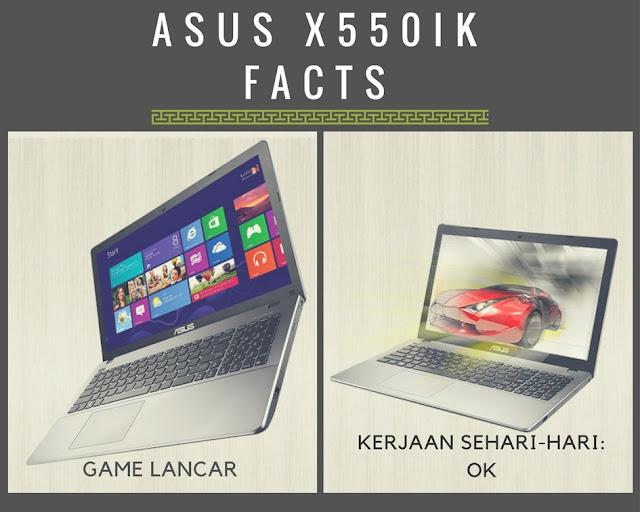 kambuna story Awal dan Akhir: Era Sebuah Laptop ASUS AMD X550IK pelopor entry level gaming