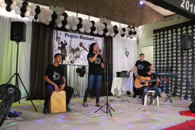 Escola Municipal da Serra promove segunda edição do Musicart