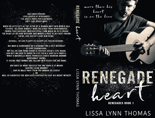 *Cover Reveal/Giveaway* Renegade Heart by Lissa Lynn Thomas