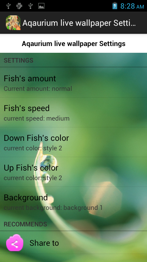 3d Aquarium live wallpaper apk