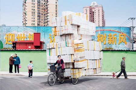 Craziest Photos of Bicycle Couriers