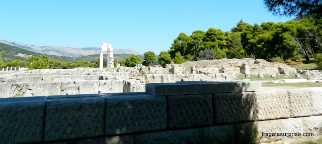 Santuário de Asclépio, Epidauros, Grécia