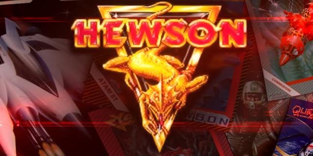Los juegos de Hewson consultants para Commodore 64