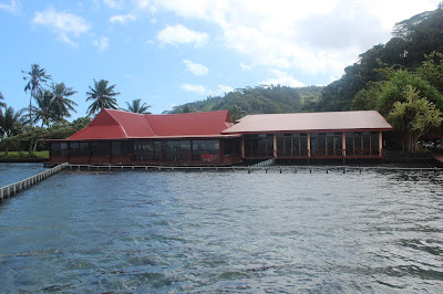 Gaugin Restaurant in Tahiti