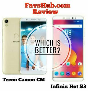 Infinix Hot S3 And Tecno Camon CM