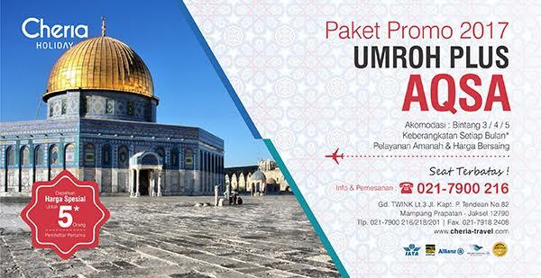 Promo Paket Umroh Plus Aqso 2017