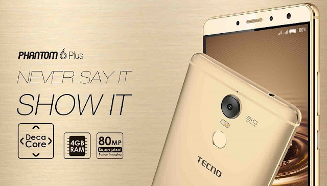 Tecno Phantom 6 Plus Specs & Price in Ghana