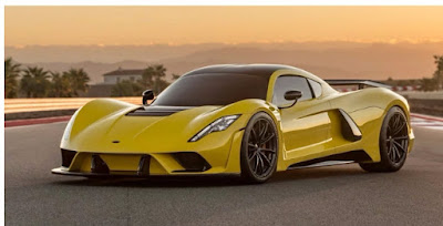 Hennessey Venom F5 hypercar has been unveiled