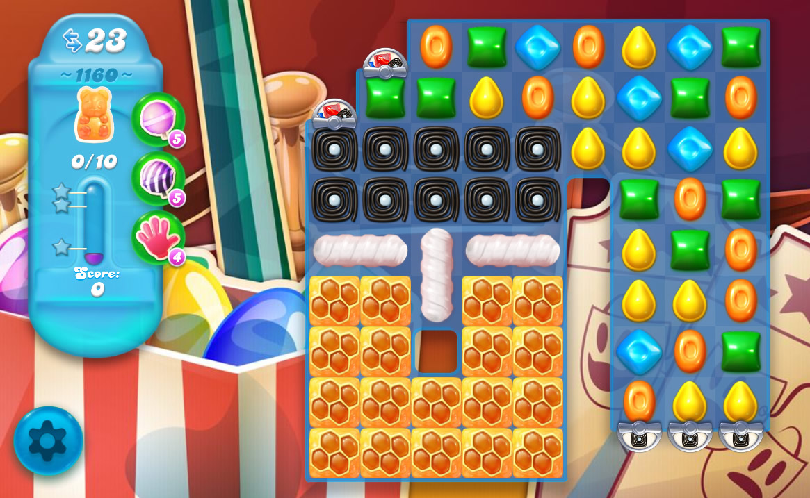 Candy Crush Soda Saga level 1160