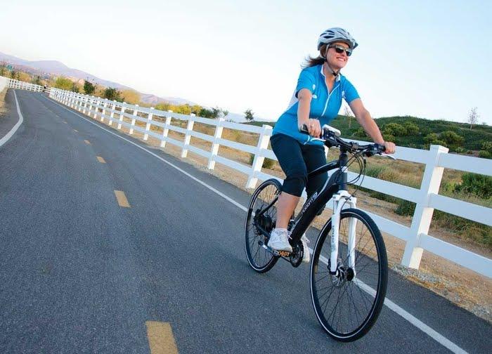 Vitoria com bicicletas eletricas