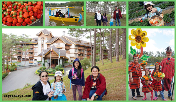 Baguio City - DIY family trip