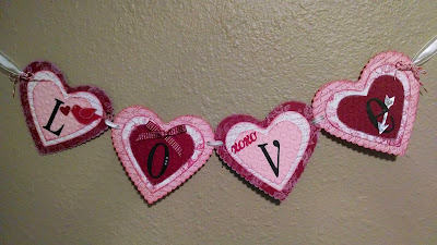 Valentine Banner, Stamp with Trude, Stampin' Up!